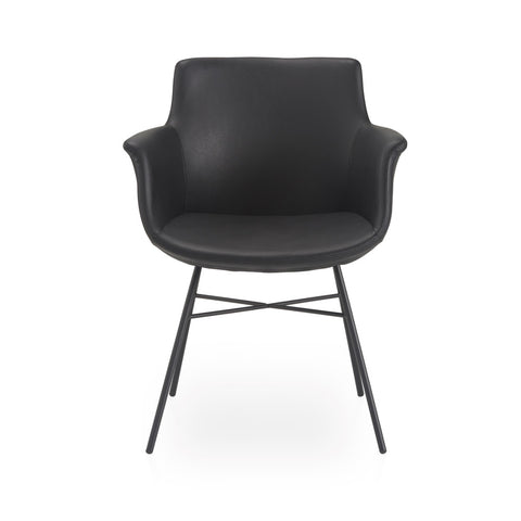 Buy Metal X Shaped Legged Mid-Century Modern Rego Armchair | 212Concept