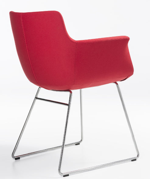 Buy Curved Modern Classic Rego Sled Chair | 212Concept