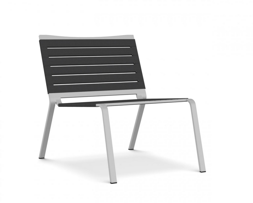 Stackable Lounge Chair: Kristalia, Rest Collection