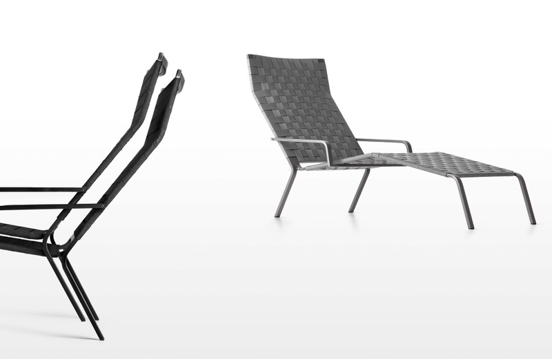 Buy Soft Fabric Outdoor Stackable Modern Chaise Lounge | 212Concept