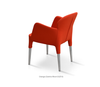 Buy Modern Curvy Fully Upholstered Rosa Armchair | 212Concept