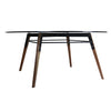Buy Industrial Steel Frame Coffee Table with Glass Top | 212Concept