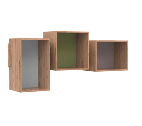 Buy Asymmetric Removable Functional Danish Bookcase Units | 212Concept