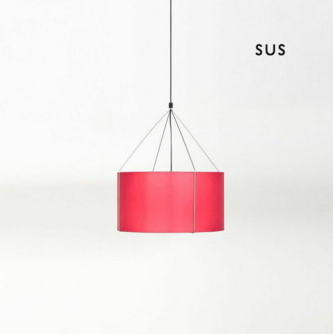 Buy Red Round Suspension Light With Colorful Shades | 212Concept