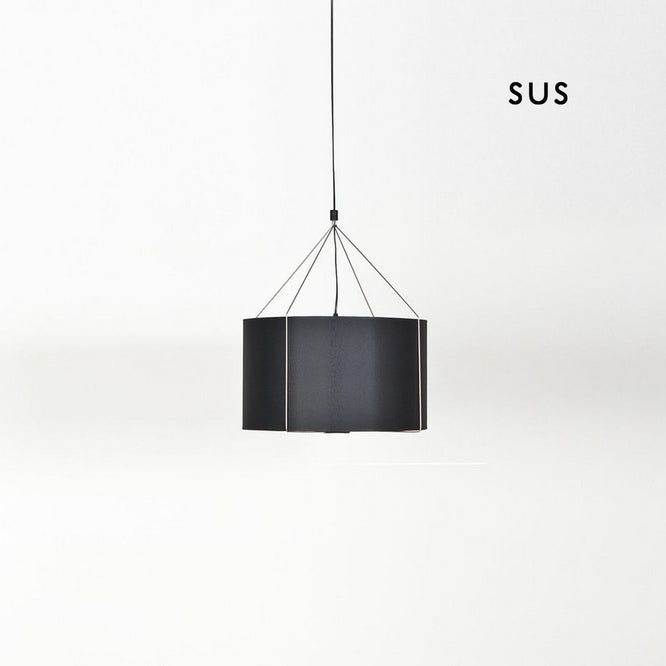 Buy Black Round Suspension Light With Colorful Shades | 212Concept