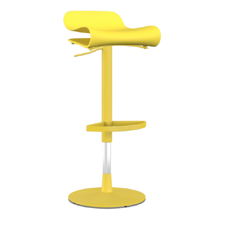 Buy Heat-Resistant Yellow Adjustable Height Stool | 212Concept