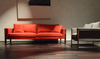 Boston modern sofa with Boston Armchair