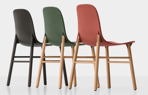 Buy Award Winning Kristalia Wood Legged Chairs | 212Concept