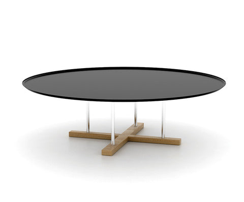 Sini round modern coffee table