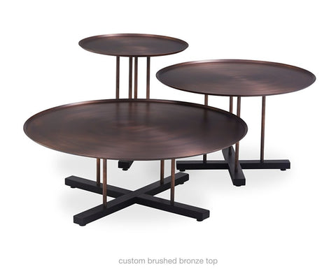 Buy Handmade Copper Round Sini Table Collection | 212Concept