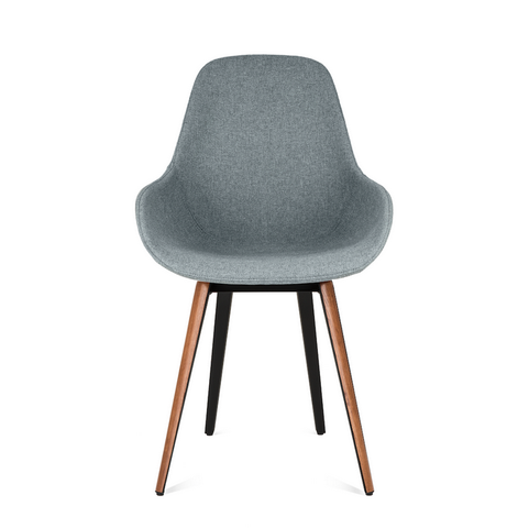 Buy Padded Seat-Hugging Ergonomic Wood-Legged Chair | 212Concept