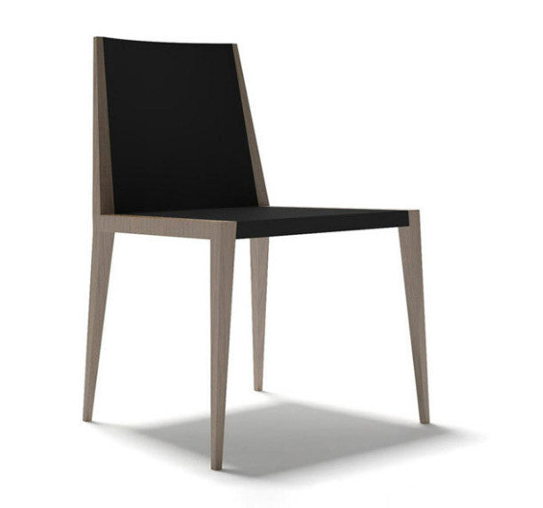 Spirit modern dining chair with wooden frame