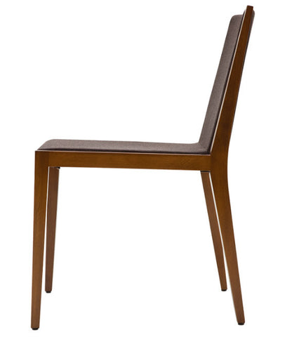 Spirit modern dining chair side view