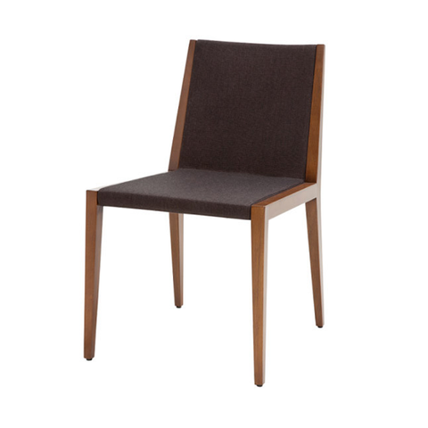 Spirit modern dining chair in black
