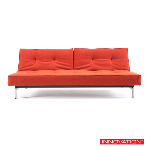 Modern Convertible Splitback Sofa