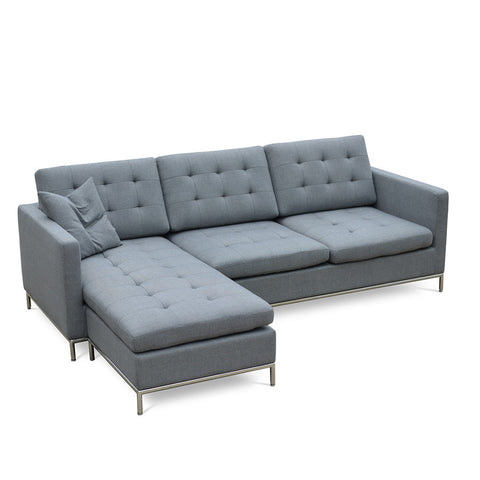 Buy Modern Movable Sectional Sofa With Ottoman | 212Concept
