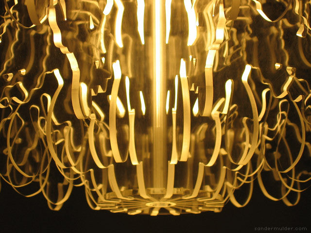 Conteporary Illuminated Therese Chandelier Close-up Image | 212Concept