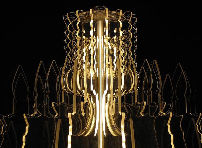 Conteporary Illuminated Therese Chandelier Standard Size | 212Concept