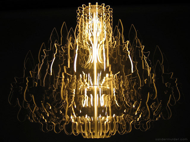 Conteporary Illuminated Therese Chandelier XL Size | 212Concept