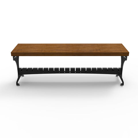 Titus Bench with Ash Top