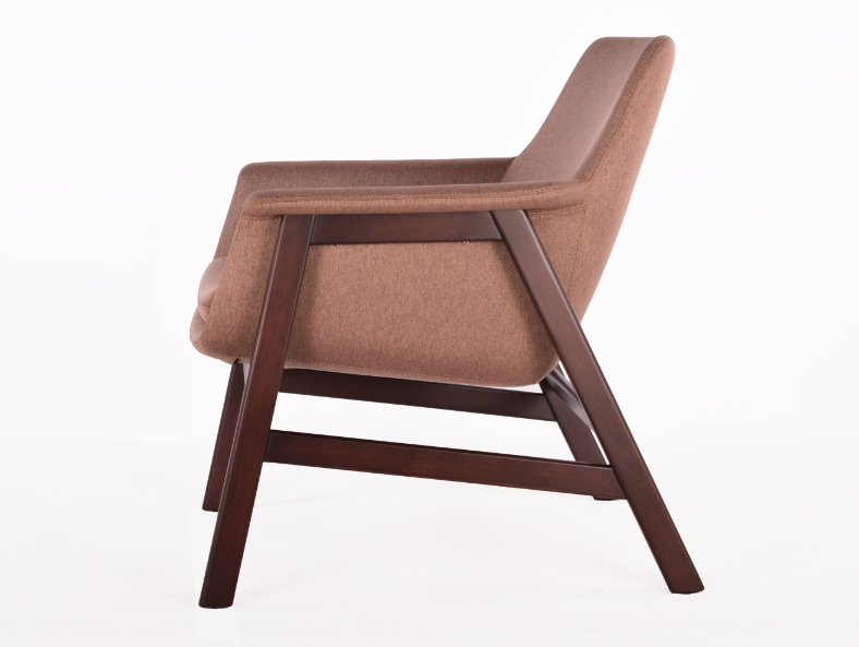 Buy Mid-Century Modern Wooden Frame Lounge Chair | 212Concept