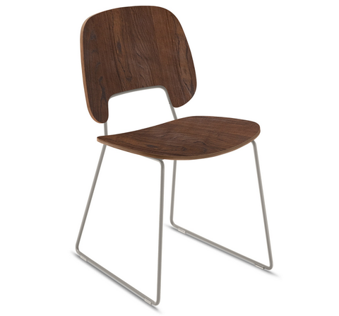 Buy Modern Classic Light Sled Stacking Chair | 212Concept