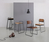 Buy Industrial Minimal Wood Shell Seating Collection | 212Concept