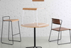 Buy Industrial Rustic Wooden Commercial Dining Chair | 212Concept
