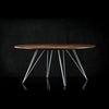 Buy Industrial Walnut Top Williams Coffee Table | 212Concept