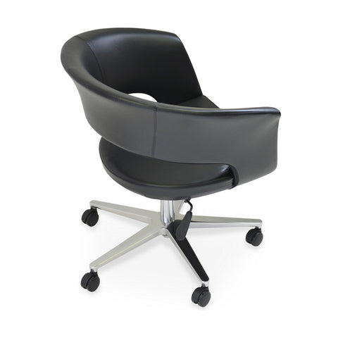 Buy Wide Round Shell Modern Task Chair | 212Concept