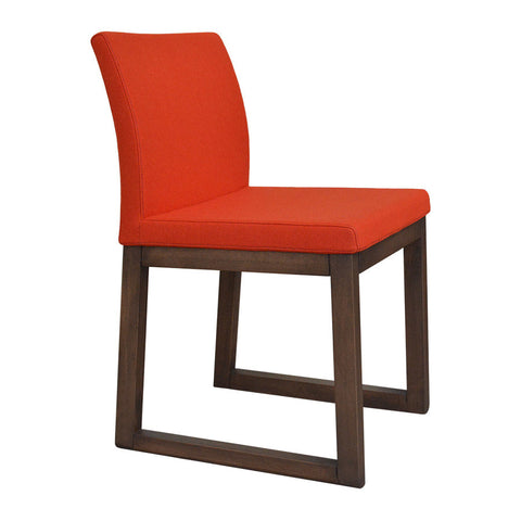 Shop for Aria Sled Wood Dining Chair | 212Concept