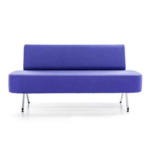 Shop For Retro Small Scale Sofa in Blue | 212Concept