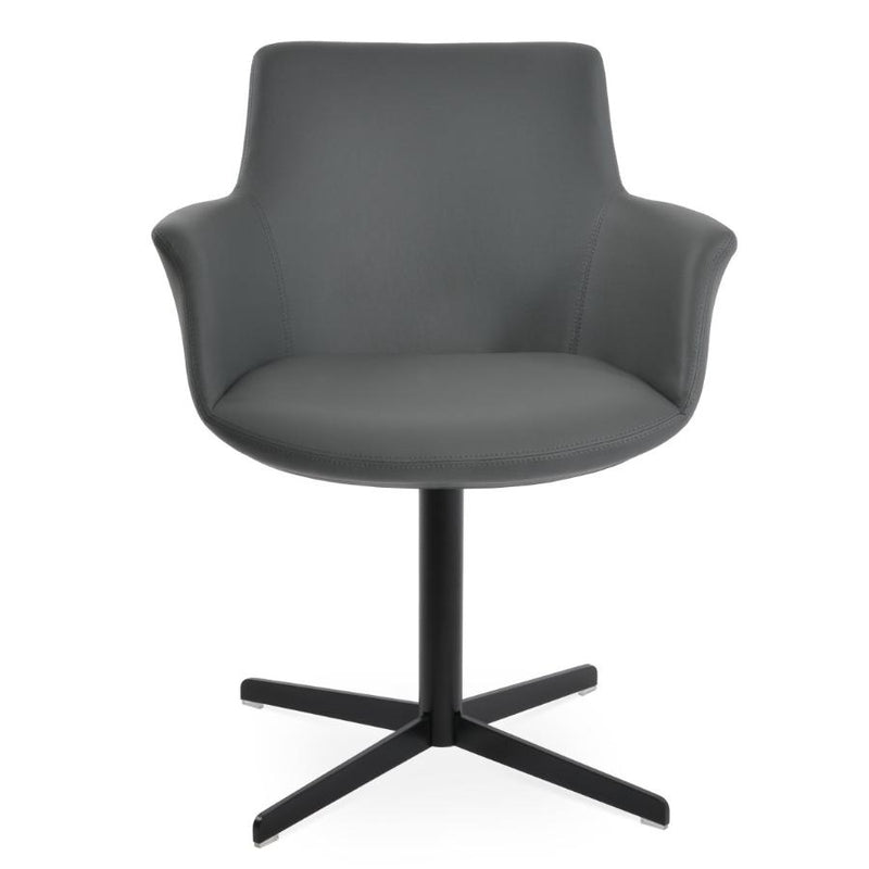 Bottega Arm 4 Star Swivel Chair