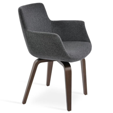 Bottega Arm Plywood Chair