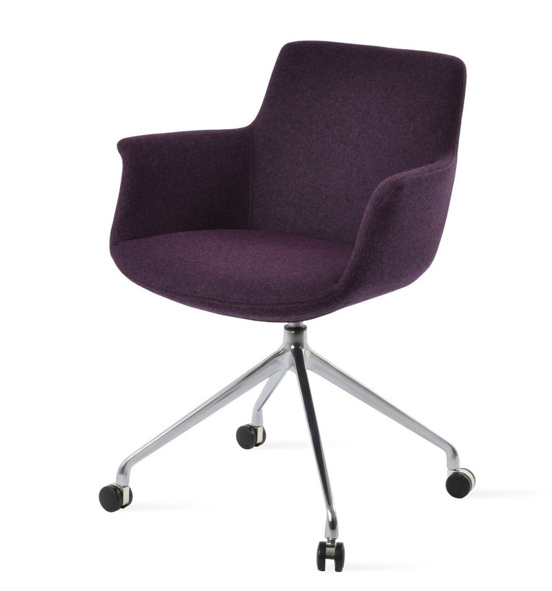 Bottega Arm Spider Swivel Chair