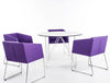 Buy Box Slide Armchair in Purple Wool Fabric | 212Concept