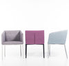 Buy Box 4-Leg Armchair in Fabric | 212Concept