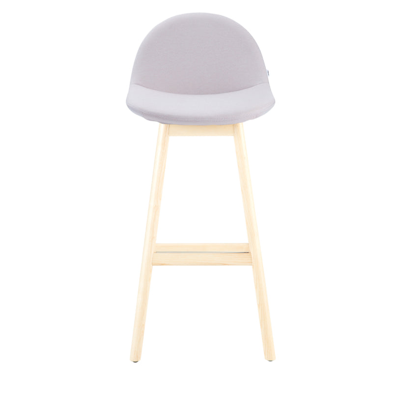 Surf Barstool 4-Leg Wood Base