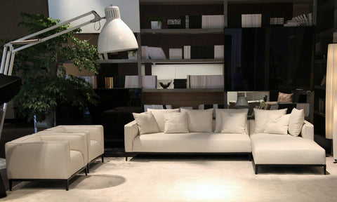 White California Sectional Sofa