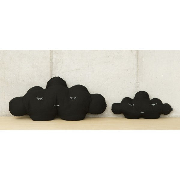 Modern Cloud Shaped Large and Small Size Black Puffs | 212Concept