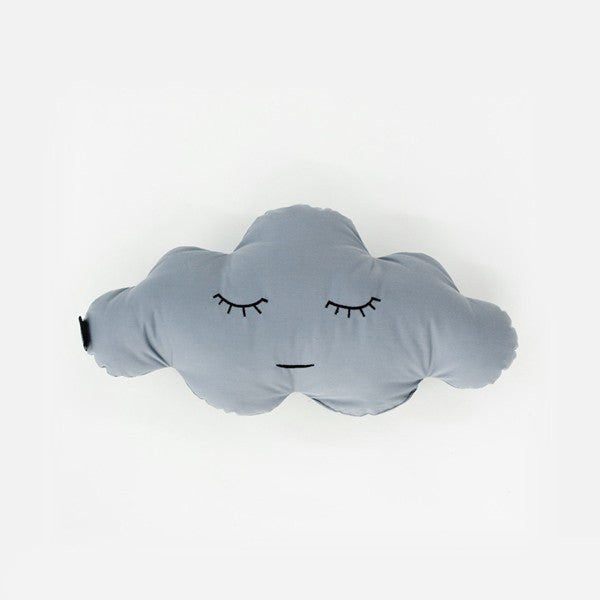 Buy Modern Cloud Shaped Grey Cotton Pillow | 212Concept