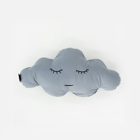 Modern Cloud Shaped Grey Cotton Pillow | 212Concept