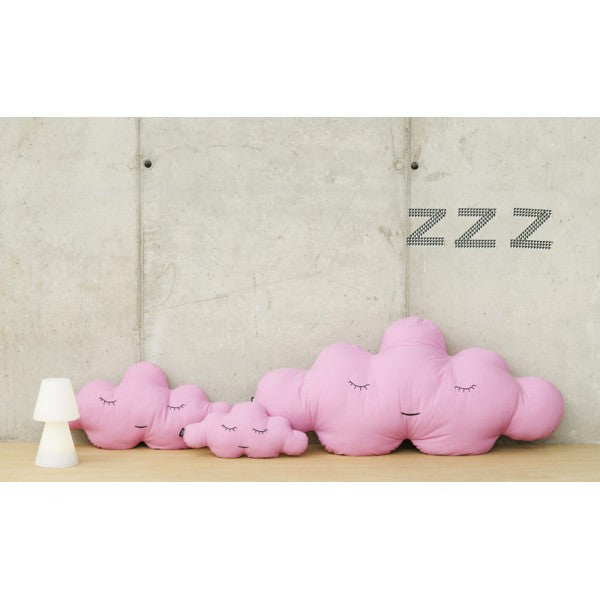 Modern Cloud Shaped Large and Small Size Pink Puffs | 212Concept
