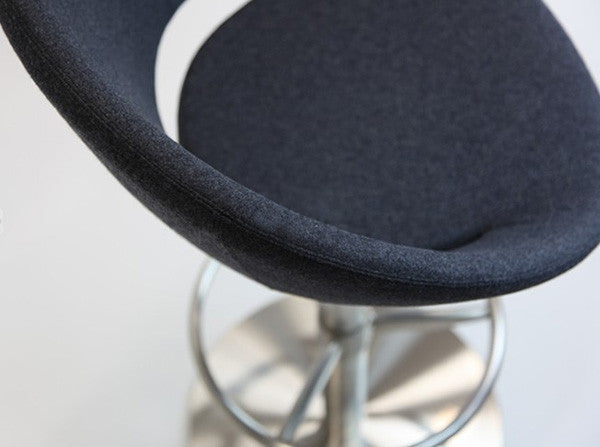 Piston Barstool Seat Detail