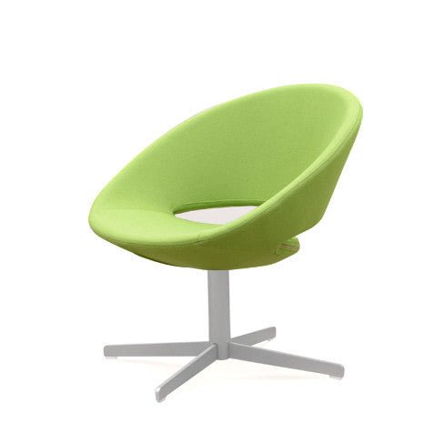 Modern Round Shaped Crescent Swivel Chair | 212Concept