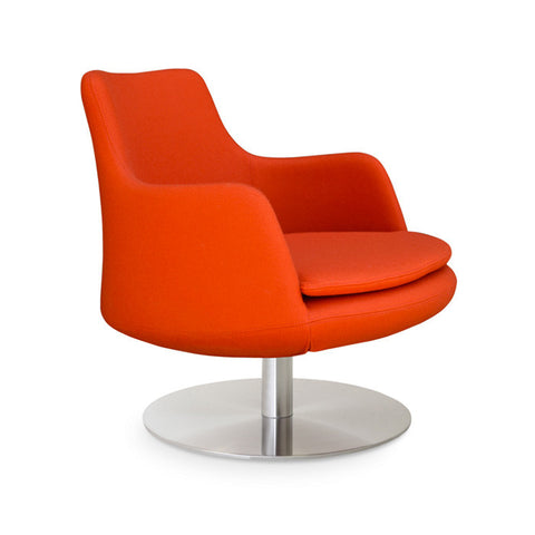 Buy Spacious Round Swivel Lounge Chair | 212Concept