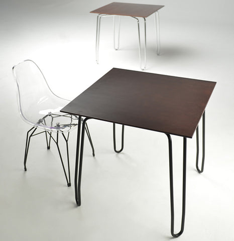 Diamond Contract Table and Diamond Side Chair