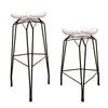 Diamond modern barstool and counter stool