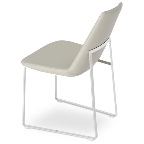Buy Modern Classic Eiffel Sled Base Upholstered Chair | 212Concept