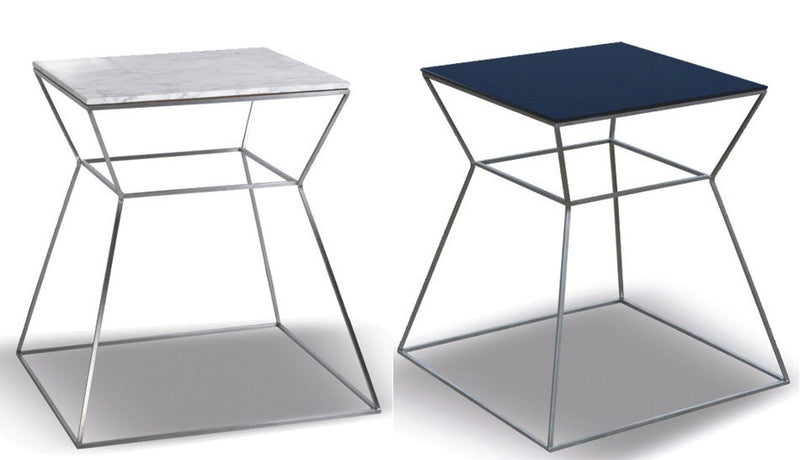 Gakko stainless steel end table